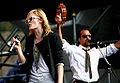 Emily Haines and Josh Winstead performing with Metric.jpg