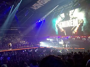 Not Afraid - Eminem performing at E3 2010 at the Staples Center in Los Angeles
