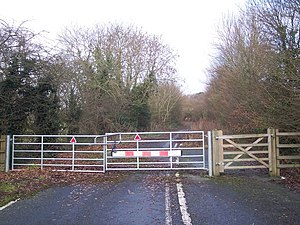 A21 road (England) - Abandoned section near Lamberhurst