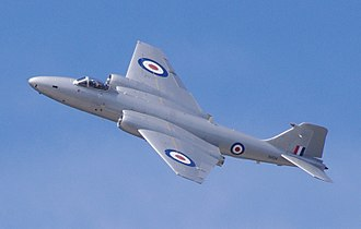 Matthew Slattery - Short Brothers built English Electric Canberra XH134