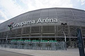 Groupama Arena - Image: Entré stade 08664