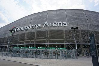 2018–19 UEFA Women's Champions League - Image: Entré stade 08664