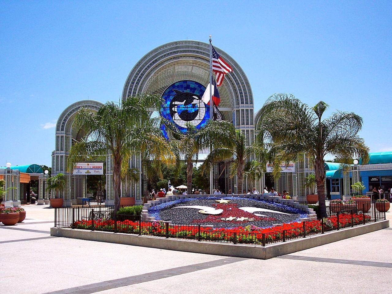 File Entrance to Sea World San Antonio Texas June 4 2007 JPG Wikimedia