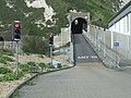 Entrance tunnel to Samphire Hoe Country Park - geograph.org.uk - 652746.jpg