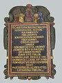 Epitaph. Christoph Hagenbach-Uebelin (1596–1668) Pfarrer, Catharina Uebelin (1616–1672), Reformierte Dorfkirche Pratteln.jpg