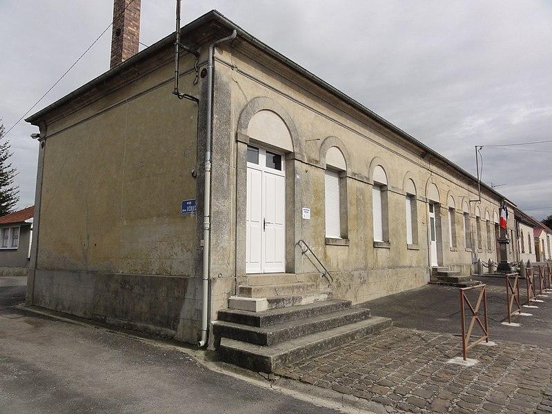 Eppes (Aisne) école et bibliothèque