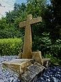 Erdbebenkreuz. Zum Gedenken an das Erdbeben 18. Oktober 1356. Standort, Krummenrainweg, Reinach (2).jpg