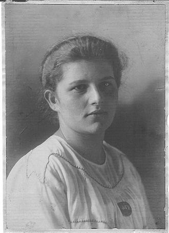 Erika Heymann - Erika Heymann, circa 1919