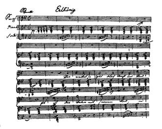 Erlkönig (Goethe) - Image: Erlkoenig Schubert Manuscript Page
