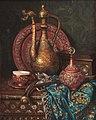 Ernst Czernotzky Stillleben mit orientalischen Ziergegenständen.jpg