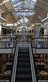 Escalator inside Victoria Wharf shopping mall, Cape Town.jpg