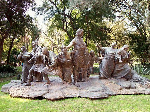 Escultura Saturnalia de Ernesto Biondi