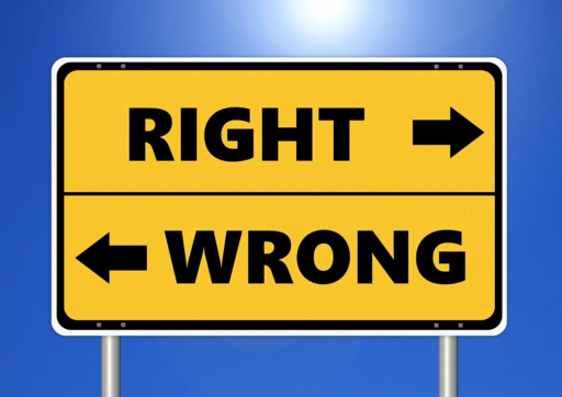 Ethics-RIGHT AND WRONG