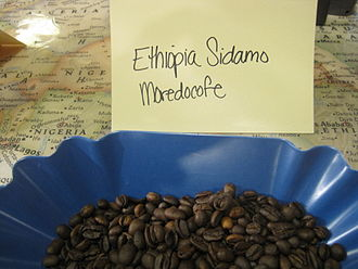 Coffee production in Ethiopia - Ethiopian Sidamo beans