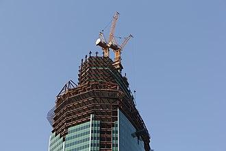 Eurasia (building) - Image: Eurasia Tower 12th September 2012
