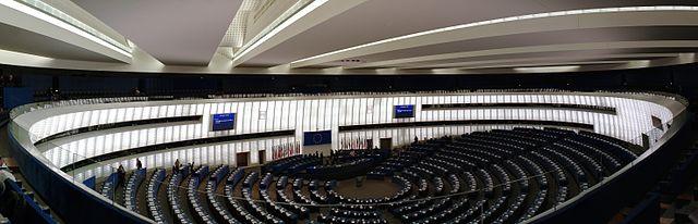 Пленарный зал Европарламента