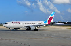 Airbus A330-200 der Eurowings