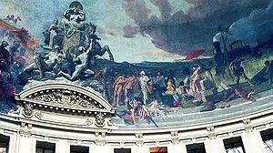 Bourse de commerce (Paris) - The United States by Évariste Vital Luminais