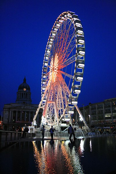 File:Evening View of the Nottingham Eye - geograph.org.uk - 1276715.jpg
