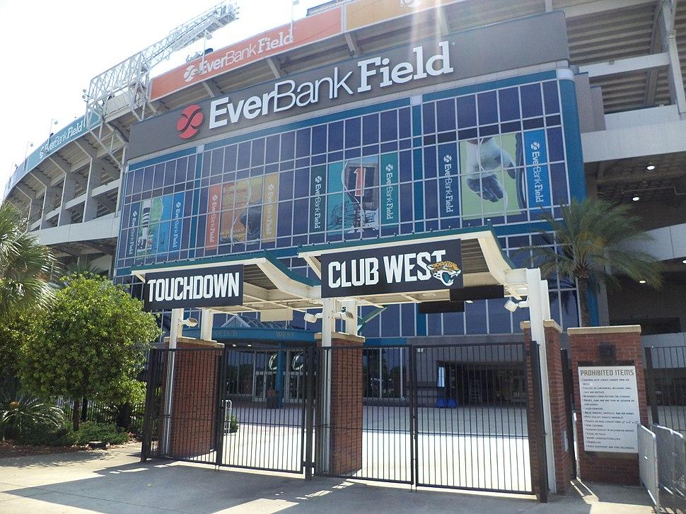 Everbank Field, Touchdown Club West looking NE