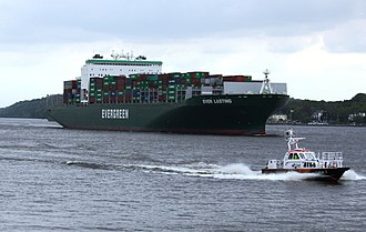 "Evergreen Marine - The ""Ever Lasting"" in Hamburg"