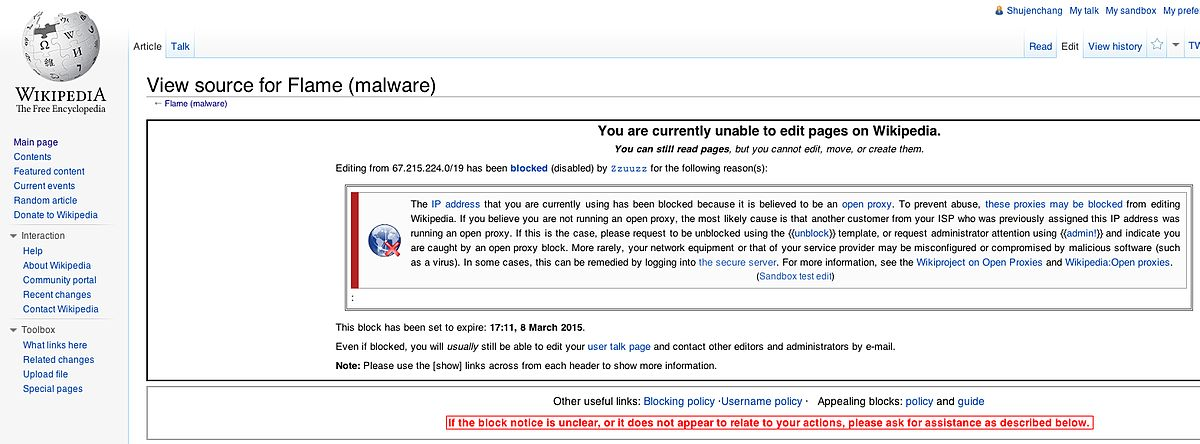 Vpn Blocking Wikipedia