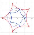 Evoluta da hipocicloide k = 5.png