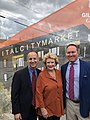Exciting announcement in Lansing—new grocery store, new hotel, great leadership! Thanks Mayor Andy Schor and Pat Gillespie! (44597376031).jpg