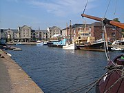 Exeter Canal Basin - geograph.org.uk - 238695