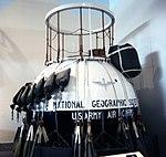 Explorer II gondola - Smithsonian Air and Space Museum - 2012-05-15 (7271389346).jpg