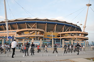 Stade Olympique de Radès - Radès Stadium exterior