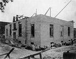 Exterior construction of US Post Office Kinston (9617354724).jpg