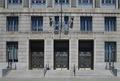 Exterior doors, Robert J. Nealon Federal Building and U.S. Courthouse, Scranton, Pennsylvania LCCN2010719014.tif