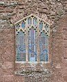 Exterior view of the Millennium Window, Goodrich Castle - geograph.org.uk - 472691.jpg