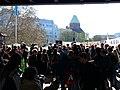 Extinction Rebellion demonstration at Jannowitzbrücke 01.jpg