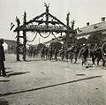 Fényi utca (Strada Uzinei) a magyar csapatok bevonulása idején. Fortepan 76928.jpg