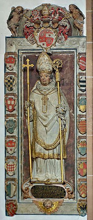 Dietrich Schenk von Erbach - Statue of Archbishop Dietrich Schenk von Erbach, from his tomb in Aschaffenburg.