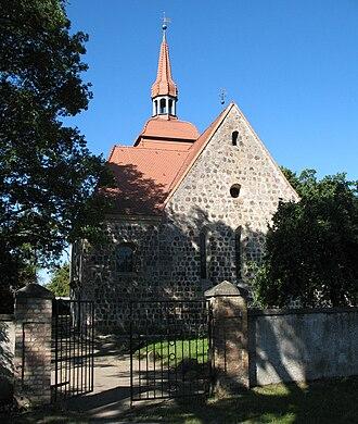 Fürstenberg/Havel - Church in Blumenow