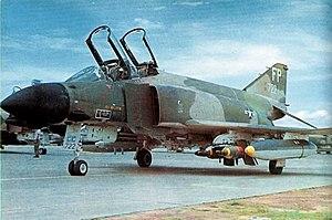 BOLT-117 - A 497th TFS F-4D with two BOLT-117s at Ubon Royal Thai Air Force Base, 1971.