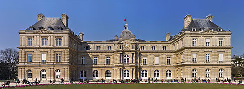 Facade of Palais du Luxembourg, Paris 5th 006.jpg