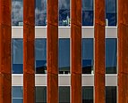 Facade of the building at the corner of Salisbury and Victoria St, Christchurch, New Zealand 02.jpg