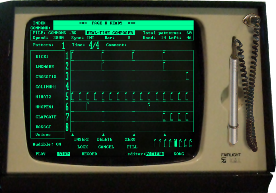 Fairlight II Page R