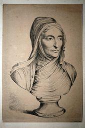Fanny von Arnstein, Lithographie von Louis Pereira, 1819 (Quelle: Wikimedia)