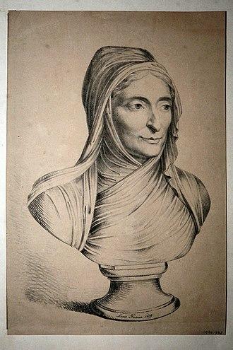 Fanny von Arnstein - Fanny von  Arnstein, Lithograph by Louis Pereira, 1819
