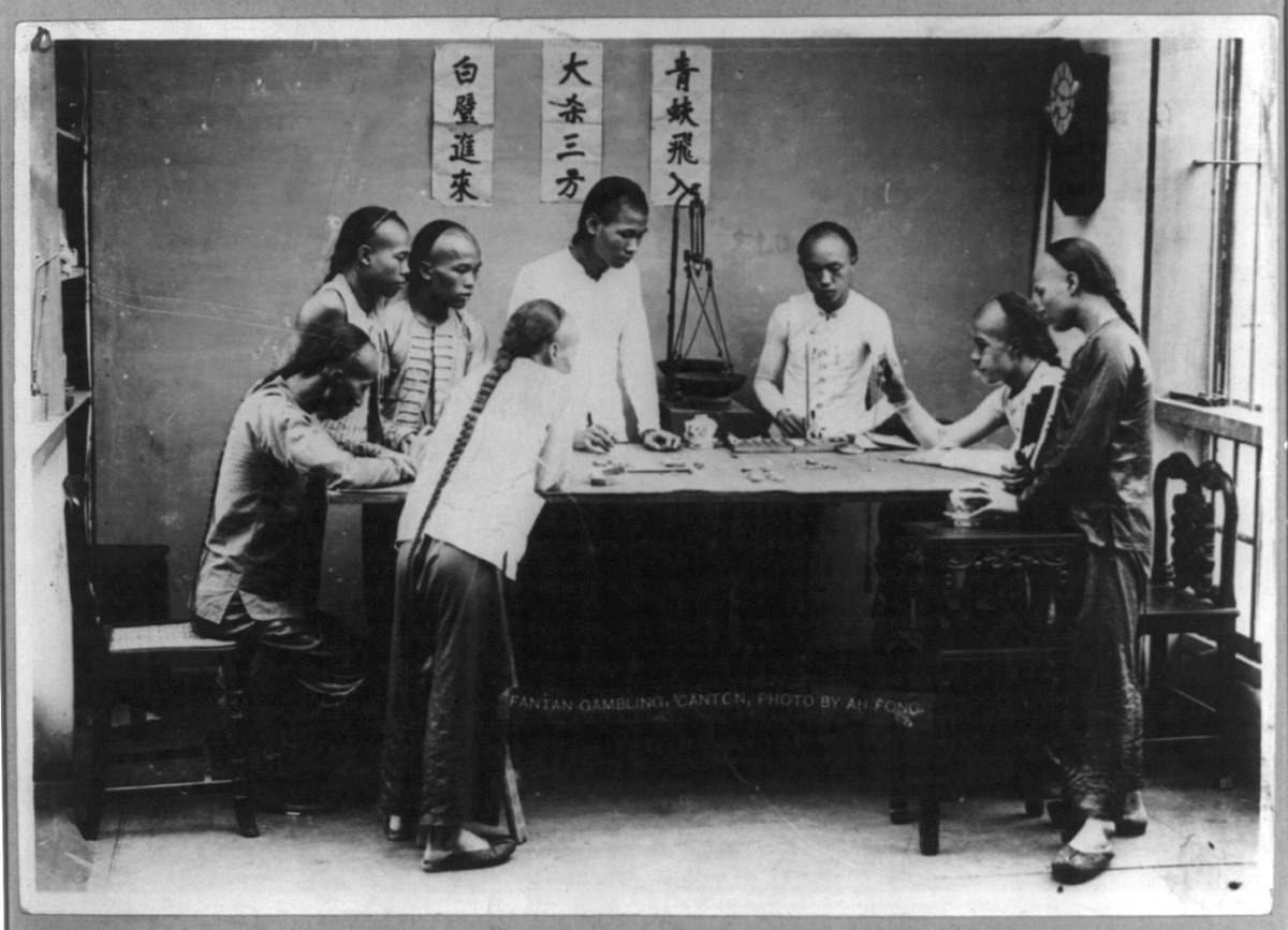 The brief chinese history of gambling gambling age in casino