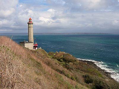 The lighthouse du Portzic in Brest (bretagne, FR)