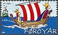 Faroe stamp 450 kongarikid i babylon.jpg