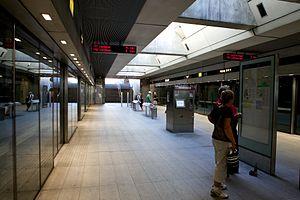 Fasanvej Station - Image: Fasanvej Station 2