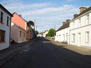 Feakle Town in Munster, Ireland