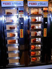 The 'automatiek' is a typical Dutch vending machine